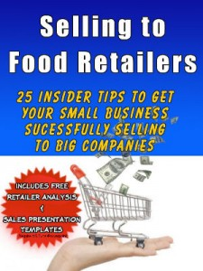 How to sell products for small food business